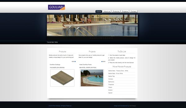 Poolgratings Website